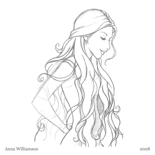 Fairy sketches anna williamson