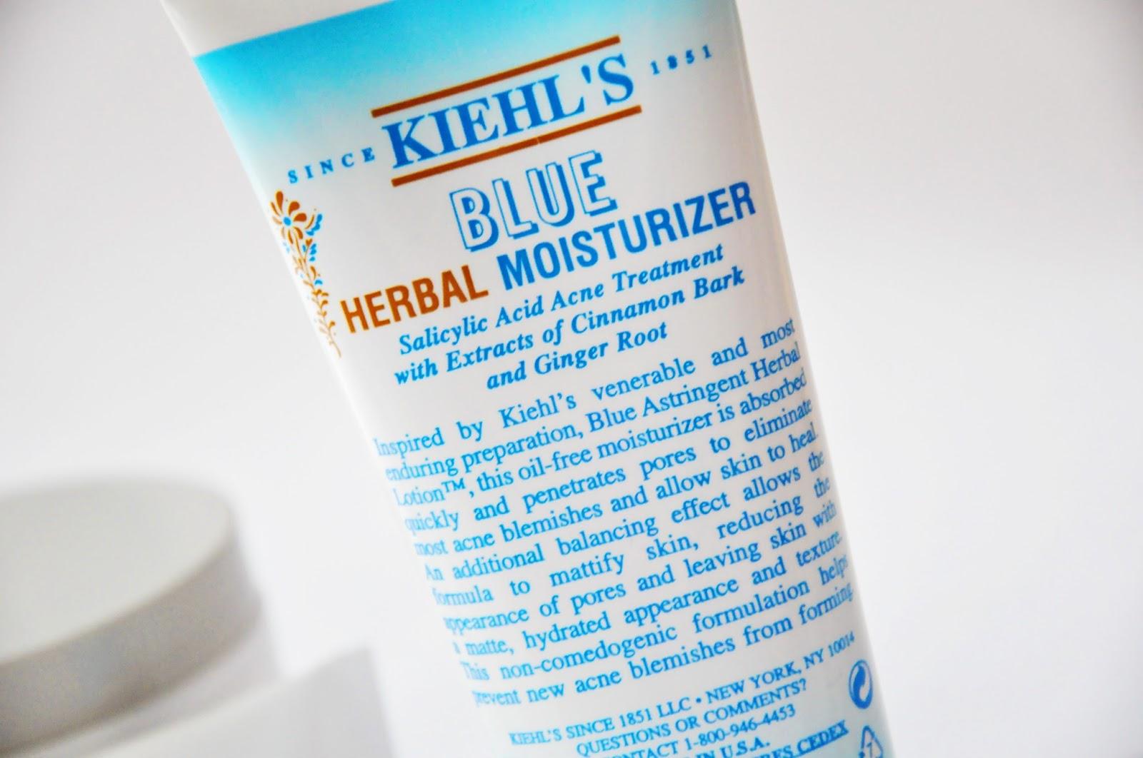 увлажняющий крем для проблемной кожи Kiehl`s Blue Herbal Moisturizer