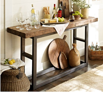 Pottery Barn Console Table