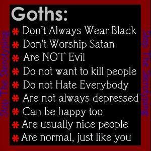 Whats The Difference Centrally located Goths And Emos