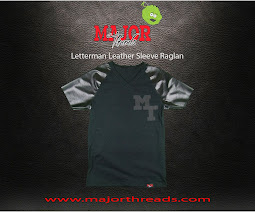 Check Out This Hot New Letterman Sleeve Raglan from Majorthreads.com