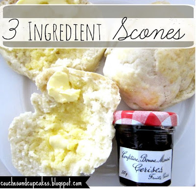 Three Ingredient Scones