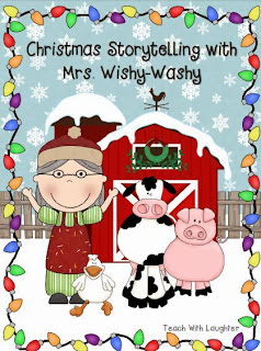 http://www.teacherspayteachers.com/Product/Mrs-Wishy-Washys-Christmas-Retelling-FREEBIE-993378