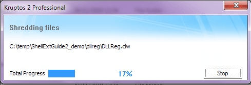 Kruptos 2 Professional - File Shredder
