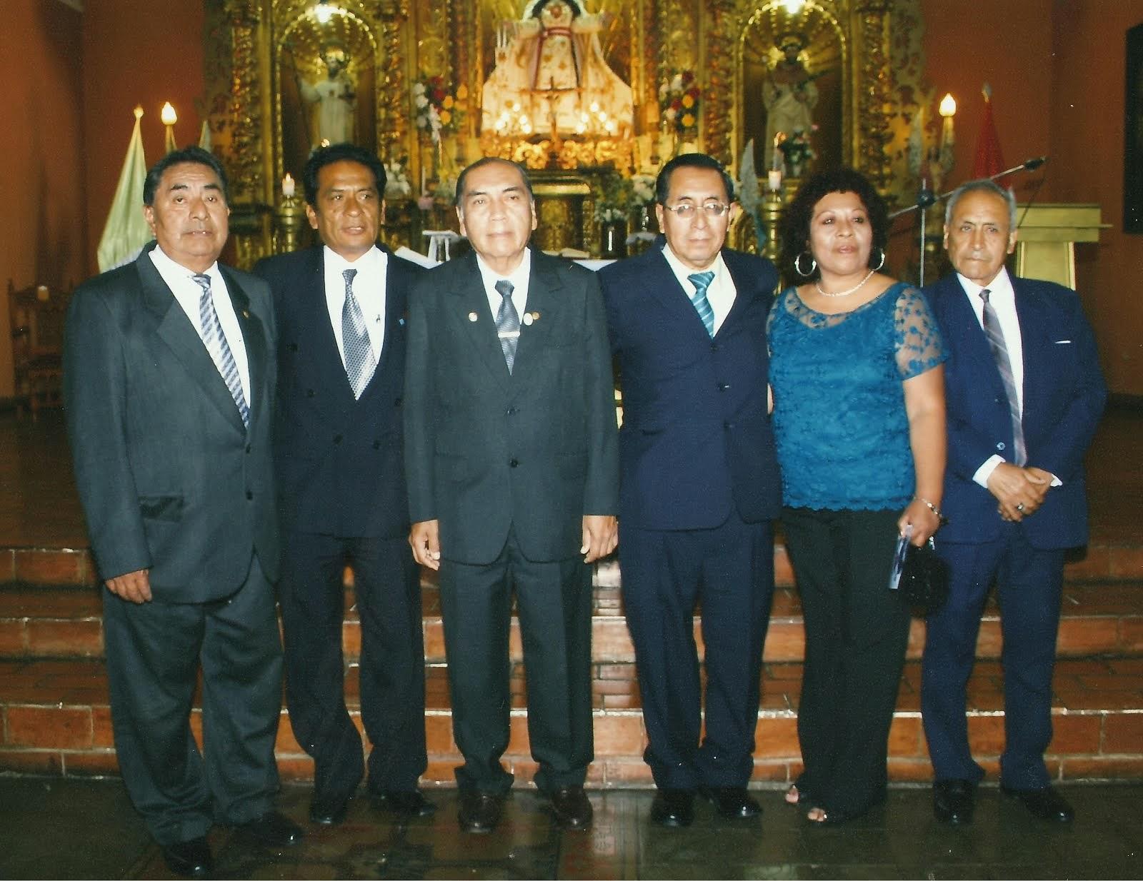 Periodistas:reencuentro en Trujillo