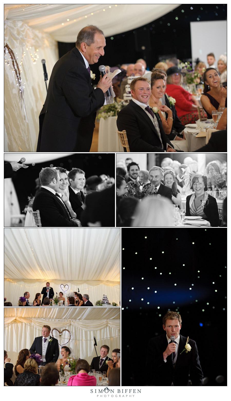 Wedding speeches - Simon Biffen Photography