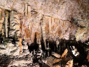 Nella Grotta Gigante