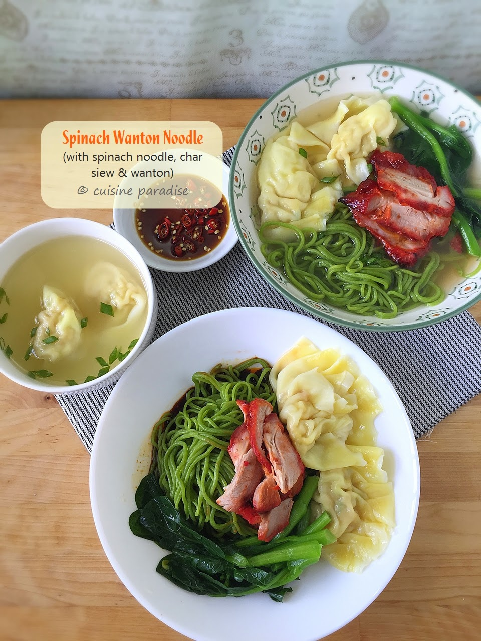 Cuisine paradise singapore food blog recipes reviews and travel 3 recipes homemade asian noodle using philips noodle maker hr236505 forumfinder Gallery