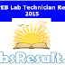 MP VYAPAM Lab Technician Results 2015 Exp Cut Off Marks