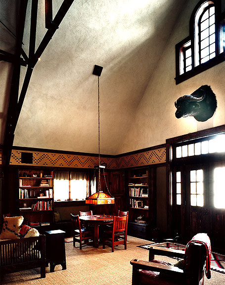 This Is A Room Filled With Gustav Stickley Furniture. It Is A Family Room  That The Current Owners Still Use For Family Gatherings.