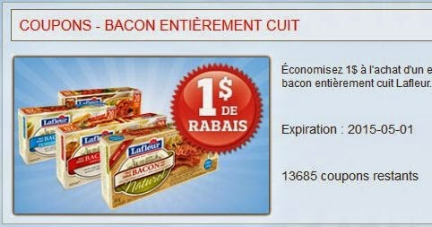Coupon rabais la coupe