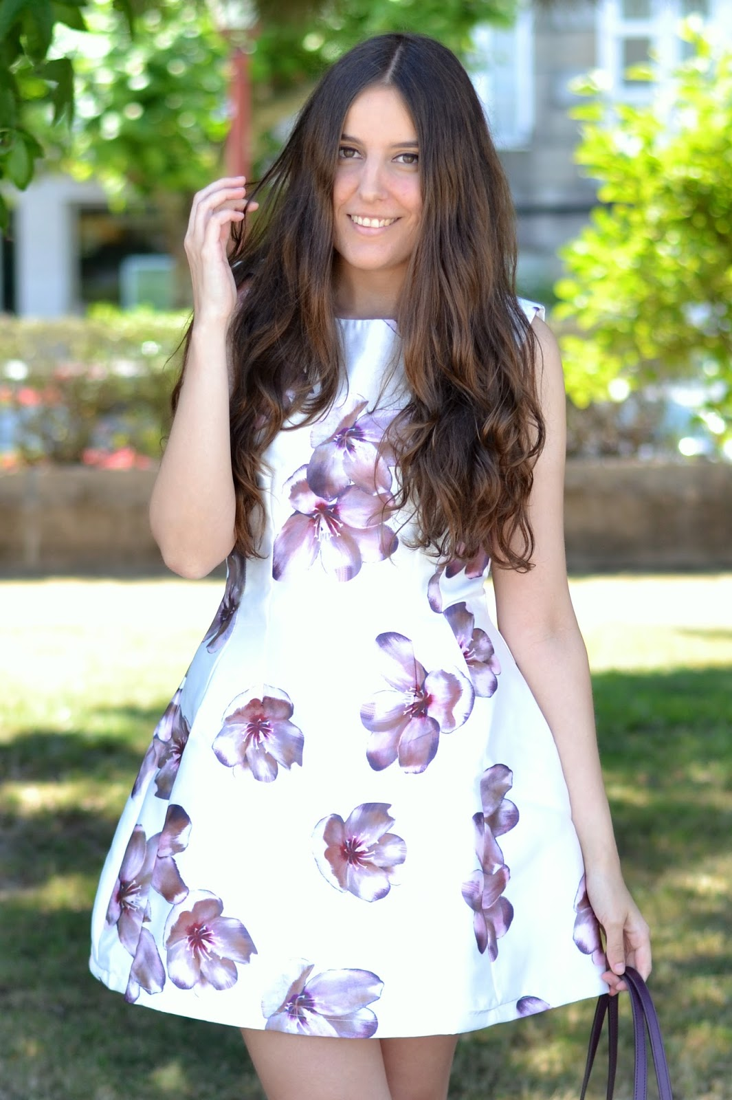 axparis floral print dress