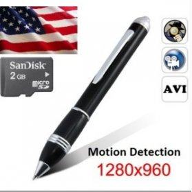 Hd Video Recorder Ball Point Pen Type