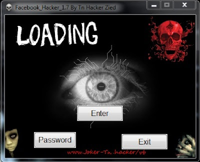 Facebook Hacker 1.7 by Tn Hacker Zied 2011