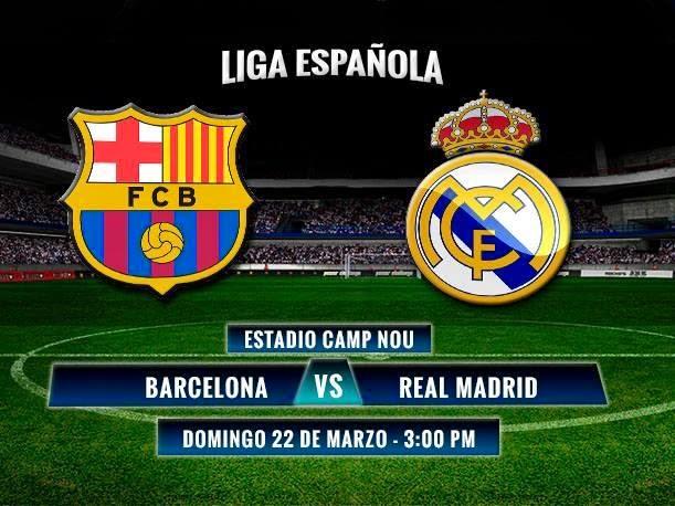 Deporte futbol barcelona vs real madrid hoy en el Resultado real madrid hoy