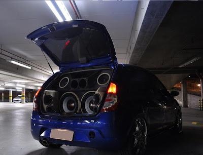 carro renault sandero tunado
