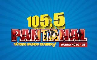Rádio Pantanal FM de Mundo Novo MS ao vivo