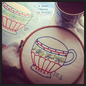 Let's Get Stitched!  A Free Stitchery Sampler to Download