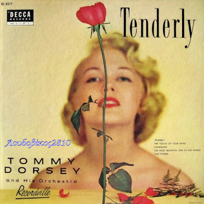 Cover Album of TOMY DORSEY AND HIS ORCHESTRA Tenderly (1952)