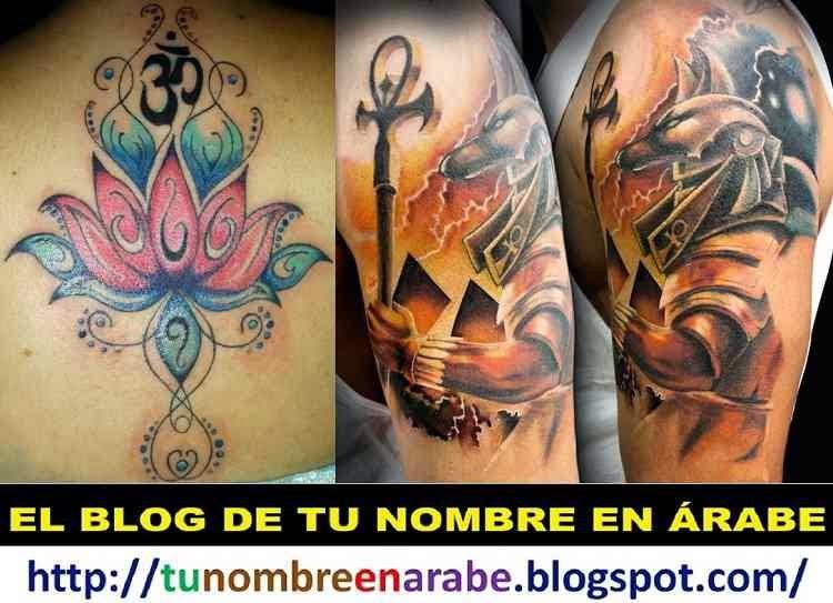 simbolo om tattoos