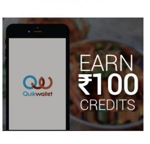Quikwallet - Get Free 100 Credits