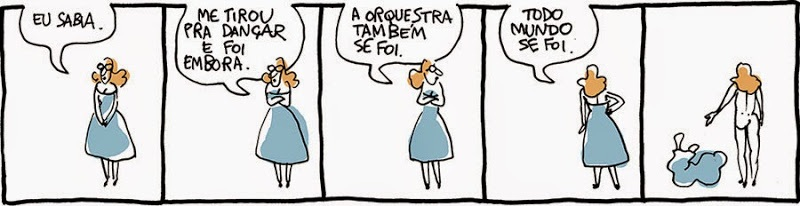 Laerte: Todo mundo se foi / Everyone's gone.