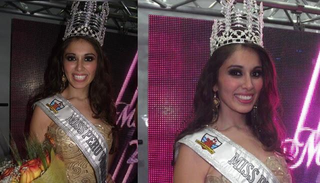 Miss Mundo Peru 2011 Odilia García