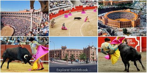 tempat wisata di Madrid Spanyol tempat adu banteng Las Ventas