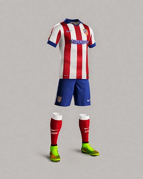 Nike Released 2014/15 Atletico  De Madrid Home kit