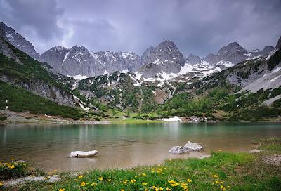 Bonitos paisajes de las praderas
