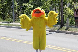 Rubber Ducky Mascot