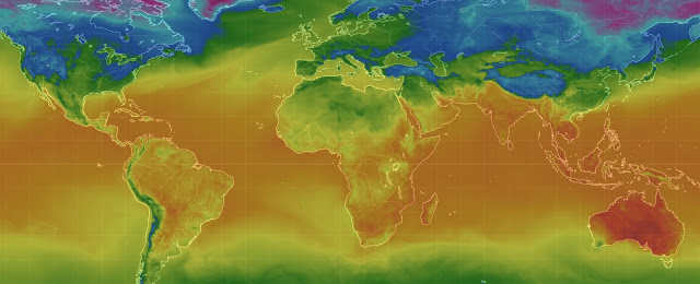 Southern Hemisphere misery: Temperatures of more than 45 degrees Celcius grips South Australia: Philippines heat index pushing 45 degrees Celsius: South Africa in the high 30's  Untitled
