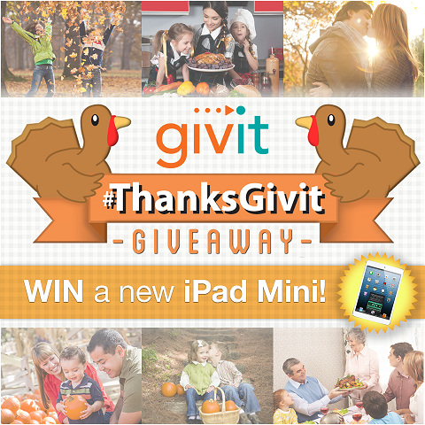 ThanksGivit contest