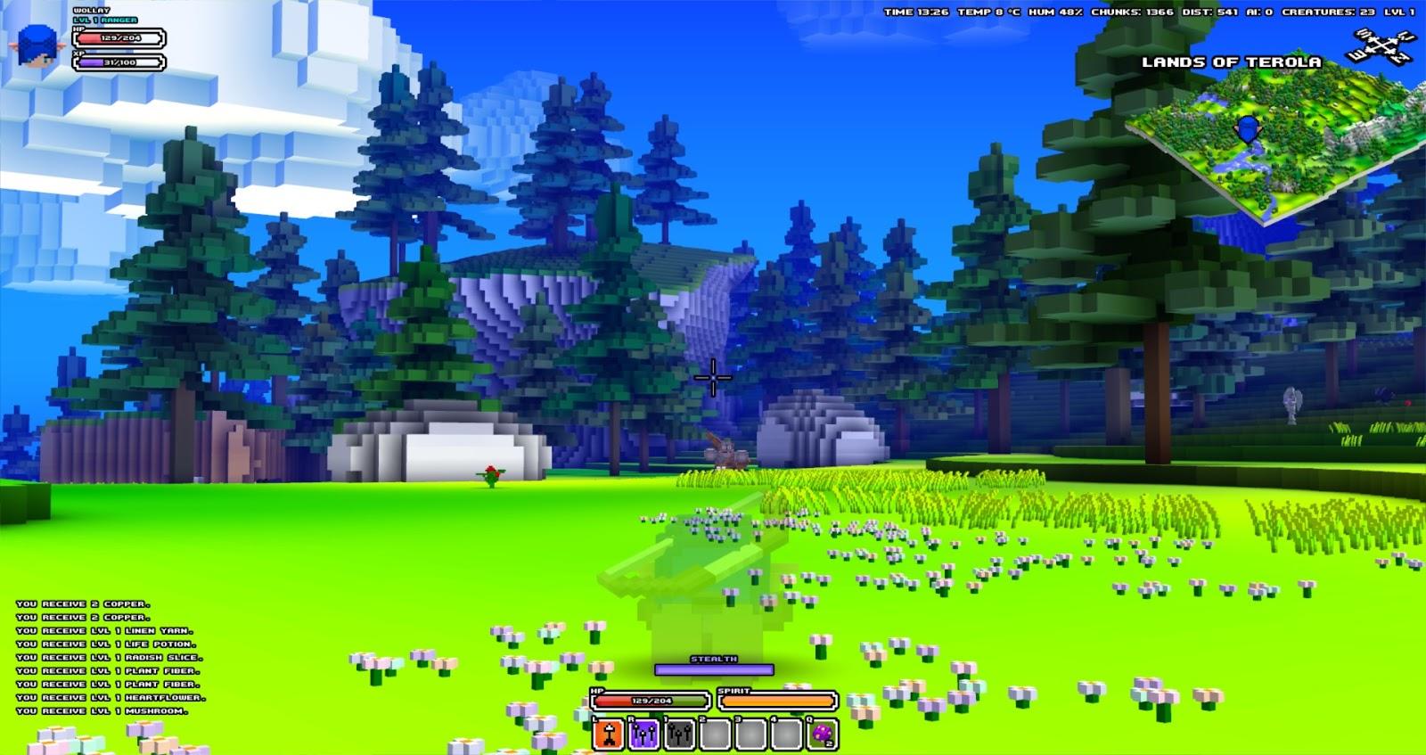 Wollays blog new cube world screenshots gumiabroncs Choice Image