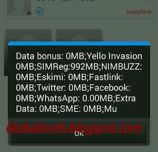 MTN Free 1GB globallords