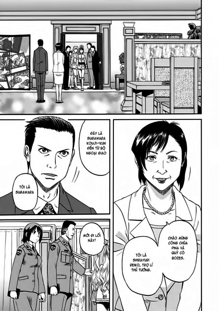 Gate – Jietai Kare no Chi nite, Kaku Tatakeri chap 17 Trang 16 - Mangak.info