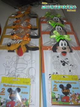 Lembrancinhas A Turma do Mickey Mouse