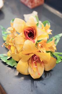 wedding bouquet paper flowers