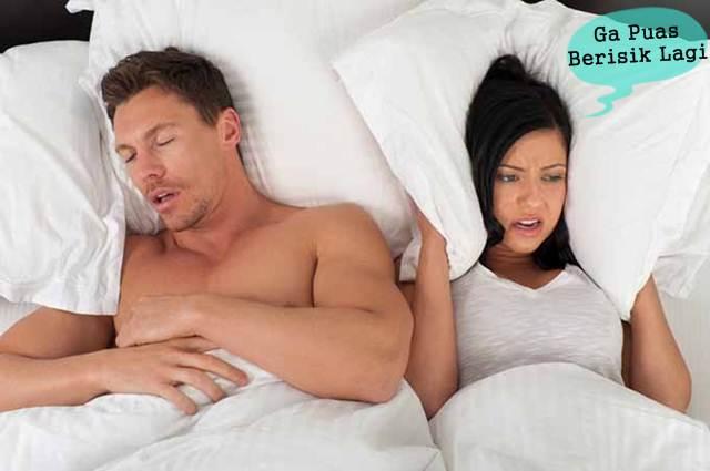 Tips Ampuh Dan Mudah Mengobati Tidur Mendengkur Alias Ngorok