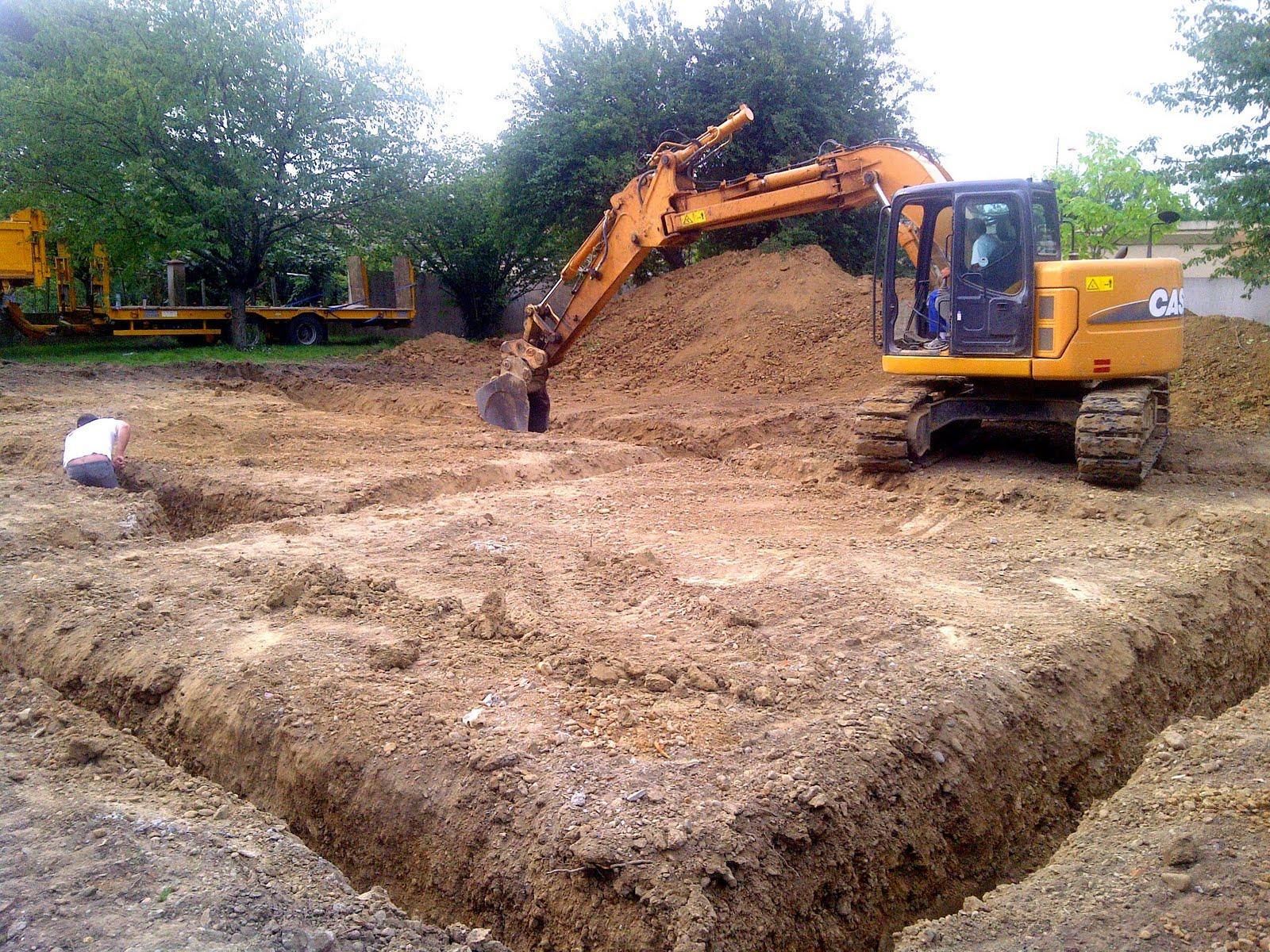Notre maison coulage des fondations for Etude de sol fondation