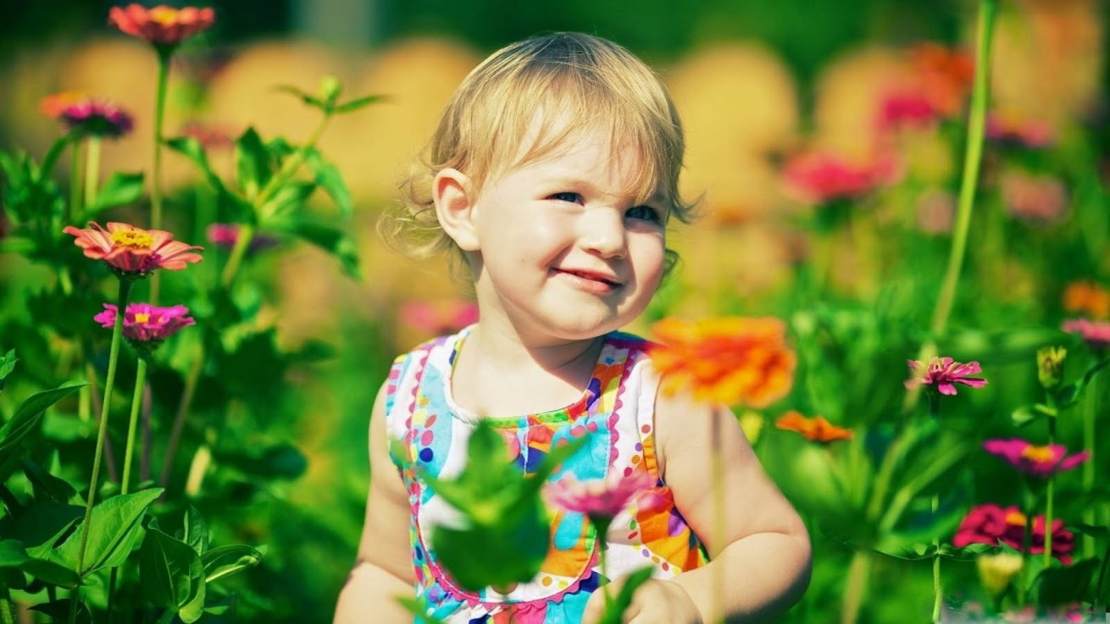 Image result for cute kids with flowers