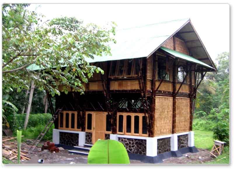 Mungkin Bagi Orang Indonesia Bambu Sering Dipandang Sebelah Mata Di Anggap Materialnya Wong Kere Bahan Bangunan Yang Tidak Mampu