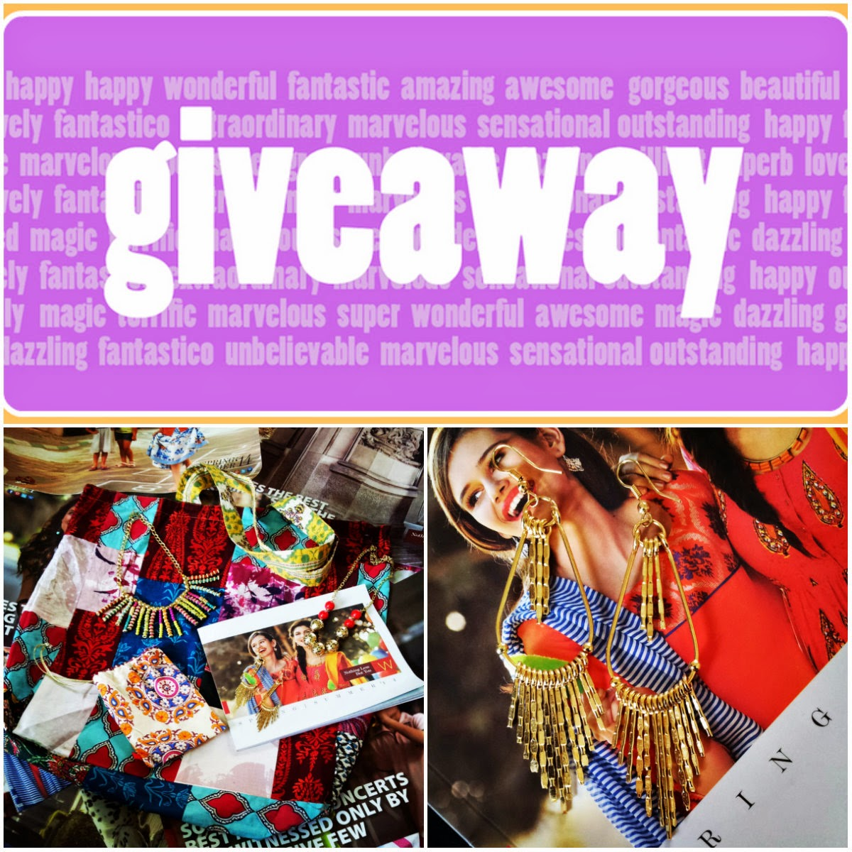 Monsoon Giveaway With W - Celebrating Monsoon Memories, Friendship And Colors image