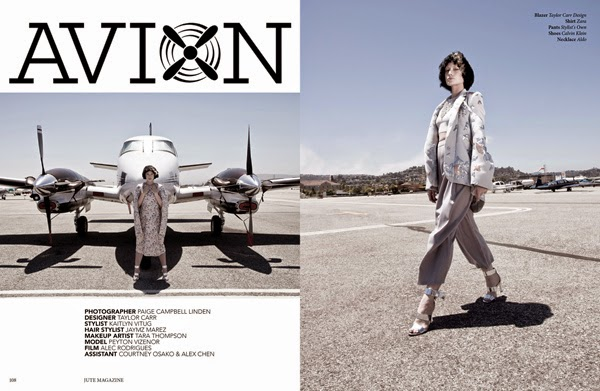 Peyton Vizenor - Cast Images - Jute Magazine - Paige Campbell Linden