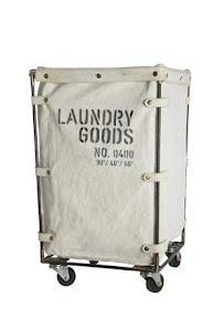 Nyhet! Tvättkorg industristil