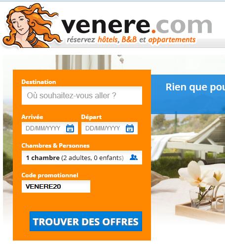 Venere Code Promo