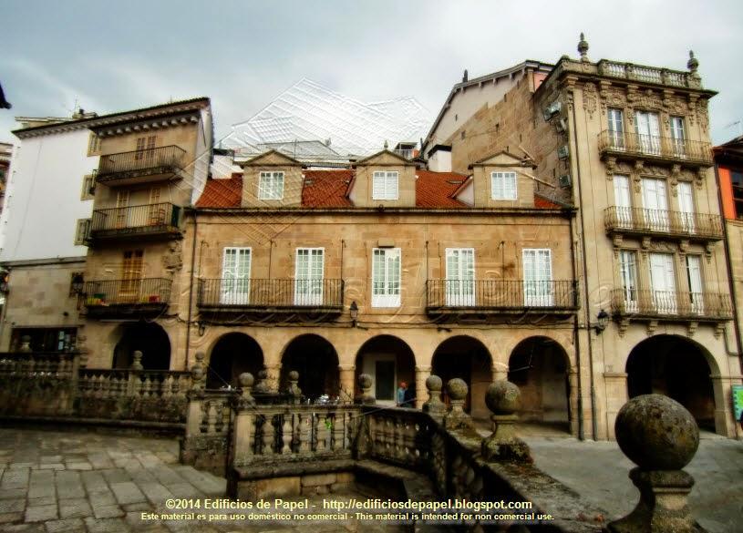 Plaza del Trigo, en Ourense