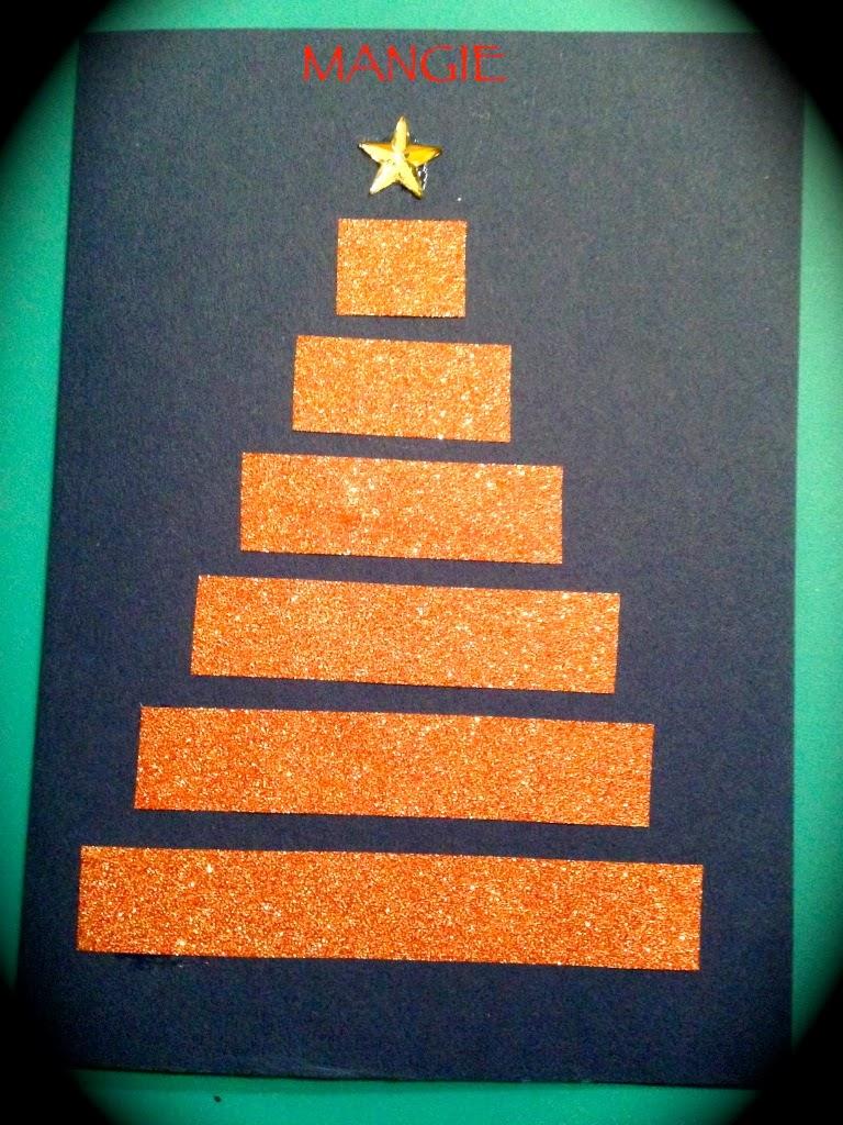 Artemangie tarjetas navide as ii manualidad ni os - Manualidades postales navidad ...