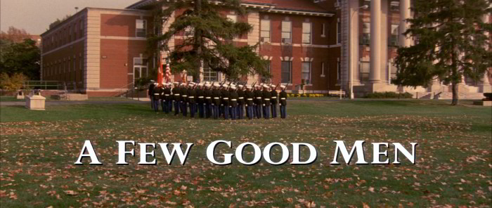 a few good men movie synopsis Read the a few good men plot and find out who is in the cast and crew at moviescom.