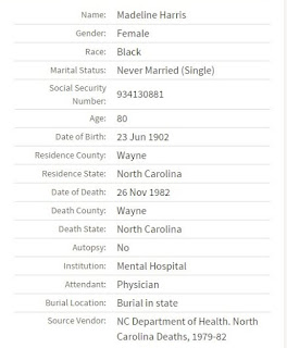 52 Ancestors 2015 Edition:  #33 Madeline Teresa Harris --I Wish I Could Get A Better Glimpse Of You --How Did I Get Here? My Amazing Genealogy Journey